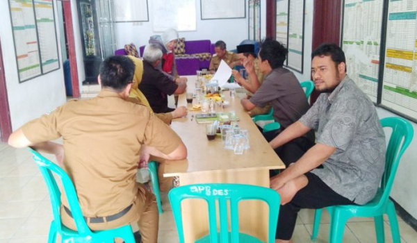 Pemeriksaan Desa Babakan Asem Inspektorat 2018